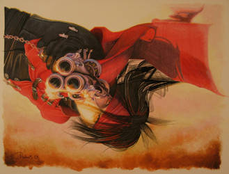 Vincent Valentine -Free Fall by DavidDeb