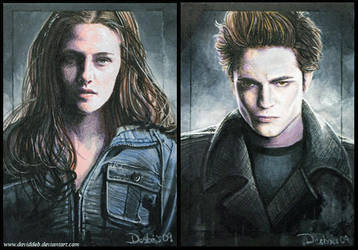 Twilight -Edward and Bella by DavidDeb