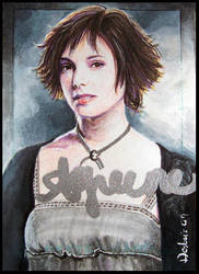 Alice Cullen -autographed by DavidDeb
