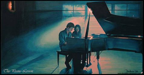 Twilight -The Piano Lesson by DavidDeb