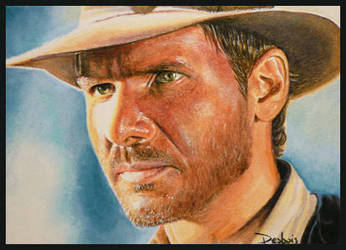 Indiana Jones by DavidDeb