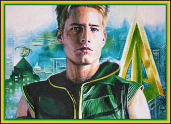 Green Arrow by DavidDeb