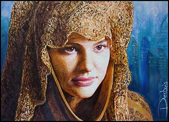 Padme -Refugee disguise by DavidDeb