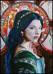 Anne Boleyn -Queen of England by DavidDeb
