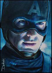 Captain America by DavidDeb