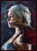 Dark Daenerys by DavidDeb
