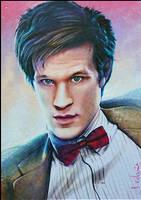 Eleventh Doctor by DavidDeb