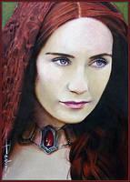 Priestess of Fire by DavidDeb