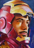 Tony Stark by DavidDeb