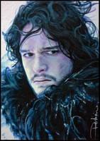 Jon Snow by DavidDeb