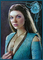 Tyrell's Rose by DavidDeb