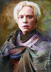 Brienne of Tarth by DavidDeb
