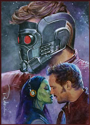 Guardians of the Galaxy by DavidDeb