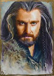 Thorin II Oakenshield by DavidDeb