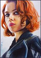 Natasha Romanova by DavidDeb