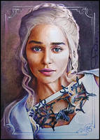 Lady Regnant of the Seven Kingdoms by DavidDeb