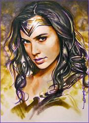 Wonder Woman by DavidDeb