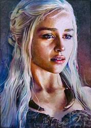 The Khaleesi by DavidDeb
