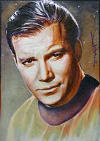 William Shatner by DavidDeb