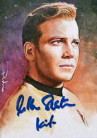 William Shatner -autographed by DavidDeb