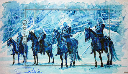 Gods of Winter by DavidDeb