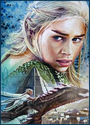 The Dragon Rider by DavidDeb