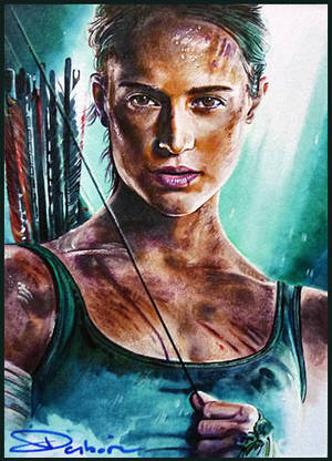 Tomb Raider 2018 by DavidDeb