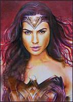 Diana of Themyscira by DavidDeb