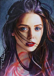 Scarlet Witch by DavidDeb