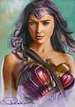 Amazon Warrior by DavidDeb