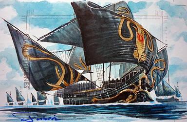The Iron Fleet by DavidDeb