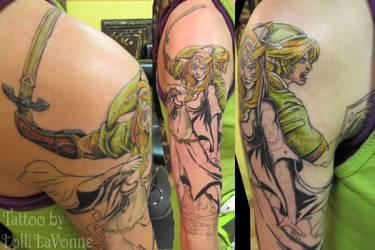 Zelda, Twighlight princess by lavonne