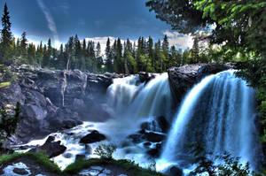 Waterfall by MattiasDahlqvist