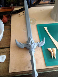 Lord of Vermillion- Sword wip by AltriaCosplay