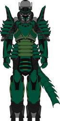 Aeris knight halcyon jade battlearmor by madcomm