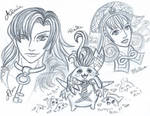 Xenoblade Chrioncles sketch 3 by LadyJuxtaposition