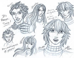 Xenoblade Chrioncles sketch 1 by LadyJuxtaposition