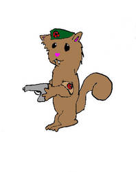 Nazi Cat-Squirrel-Chipmunk by the-bird-is-the-word