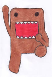 Domo-Kun by the-bird-is-the-word
