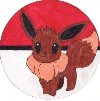 Eevee by the-bird-is-the-word