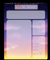 [S-R] Blank Night Class App by Aaeruu