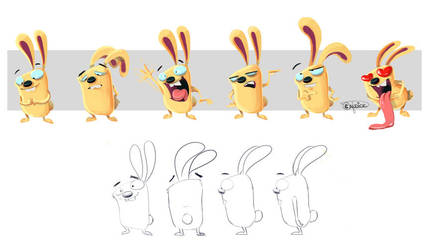 Rabbit Bunny by Shye6686