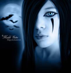 Full Moon by Vampy-note