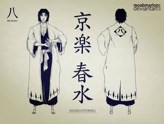 Official Character's Bleach - Shunsui Kyoraku by MoabMarlon