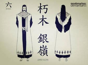 Official Character's Bleach - Ginrei Kuchiki by MoabMarlon