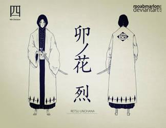 Official Character's Bleach - Retsu Unohana by MoabMarlon