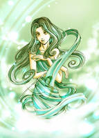 goddess by nekopin