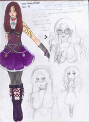 Kagura Ayase Charasheet by BlackGeisha