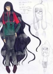 Keneou Fu- Lin Charasheet by BlackGeisha