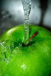 Apple Splash II by LDFranklin
